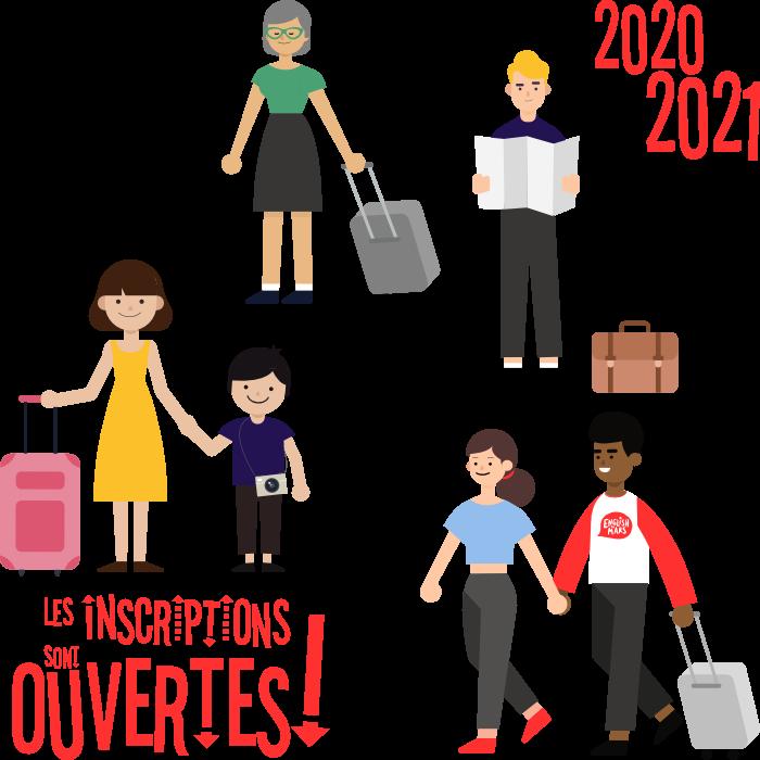 Les inscriptions 2020-2021 sont ouvertes !