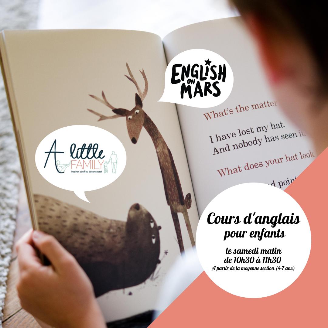 English on Mars propose des cours chez A Little Family